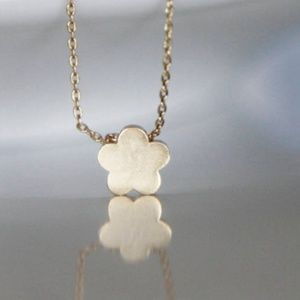 Gold Flower Necklace/bracelet/anklet, Handmade